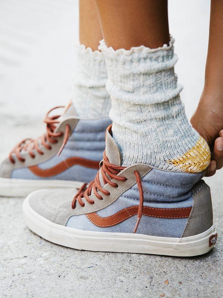 Melbourne Heathered Crew Socks
