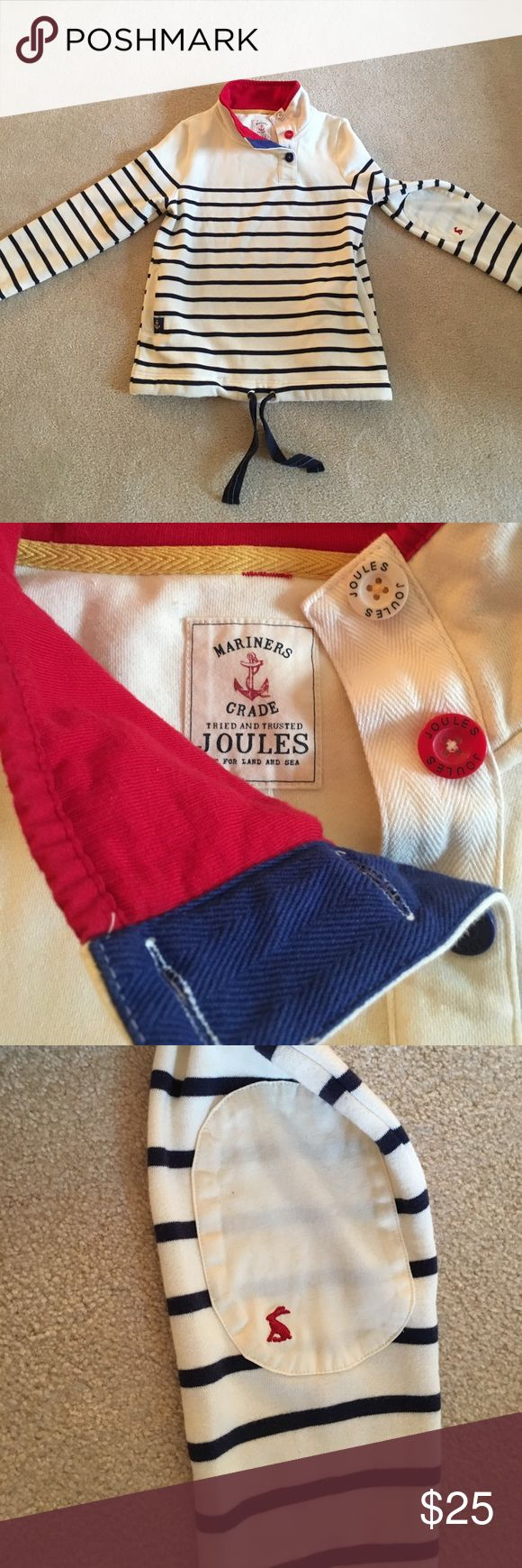 Mariners Grade Joules top Size 4, sweatshirt material, never worn, very cute mariners grade joules Tops Sweatshirts & Hoodies