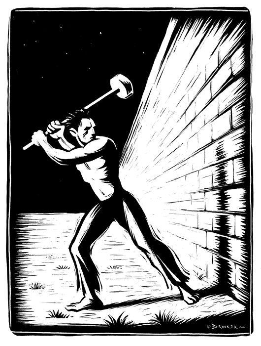 Eric Drooker • drawings