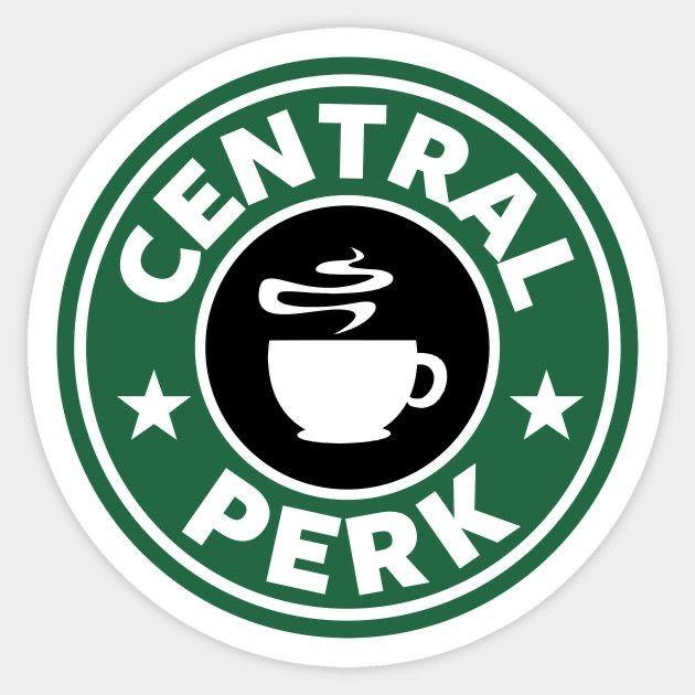 Central Perk Circle Friends TV Show Vinyl Window Laptop Bumper Sticker Decal