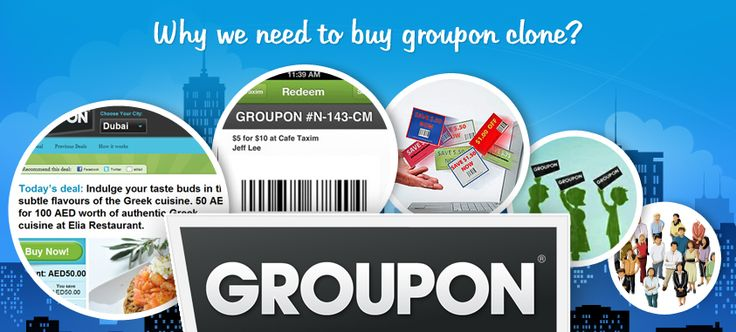 @Agriya Entrepreneurs can create a successful website like Groupon by using Agriya's Groupon clone . It helps you to create a daily deal website which can host live and hot deals.Have a look on Groupon features in various verticals.  http://www.agriya.com/products/groupon-clone