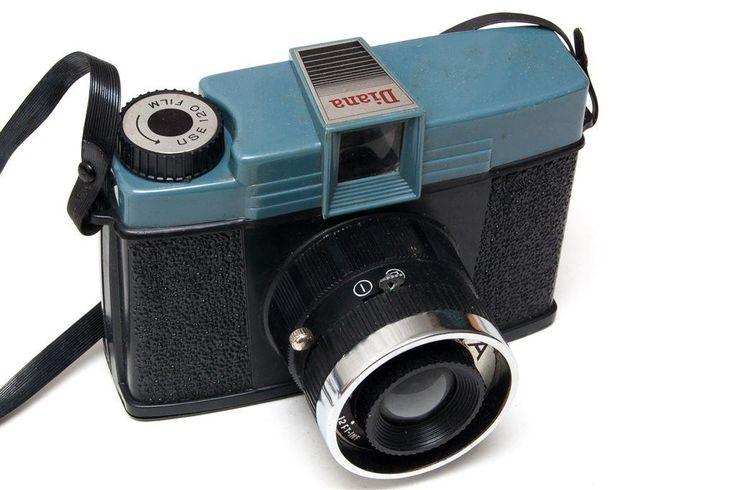 Diana - den klassiska toycam:en för mellanformatsfilm 120, 4x4 på