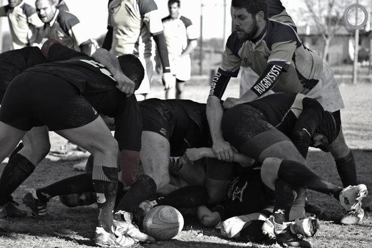 """Putei Veci"" Rugby team, Venice"