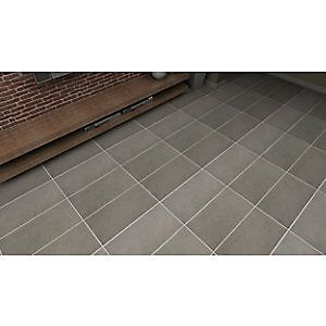 wickes urban grey glazed porcelain wall u0026 floor tile 300x600mm