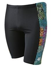 Arena Samba Jammer - Black and Multi The mens Arena Samba Jammer is sporty and has a racing silhouette for squad or club swimming http://www.MightGet.com/january-2017-13/arena-samba-jammer--black-and-multi.asp