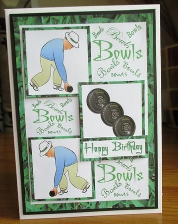 14 Best Lawn Bowls Cards Images On Pinterest Grass Lawn And