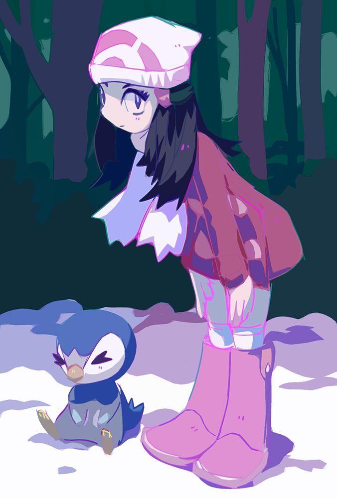 "murkbone: ""dawn is my favourite pokemon player character…i want to get pokemon platinum…someday… """