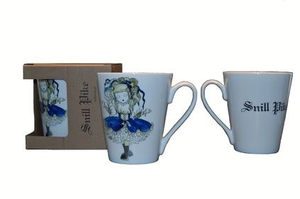 ,, Snill pike,, collection by Anna Strøm mugs ,, Snill pike,,- God girl http://www.design-of-norway.no/ www.snillpike.no