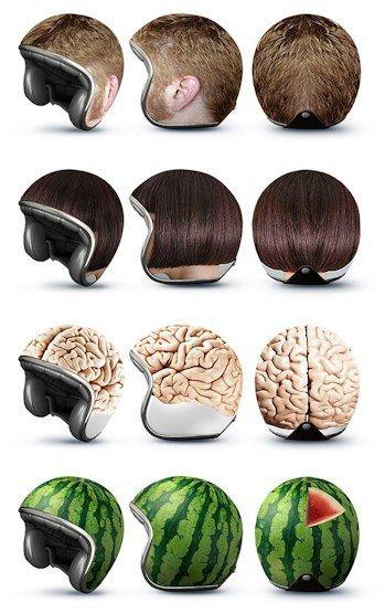 リアルな ヘルメット