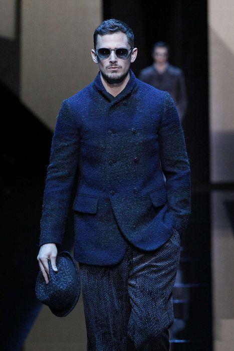 Giorgio Armani, Autunno/Inverno 2017, Milano, Menswear