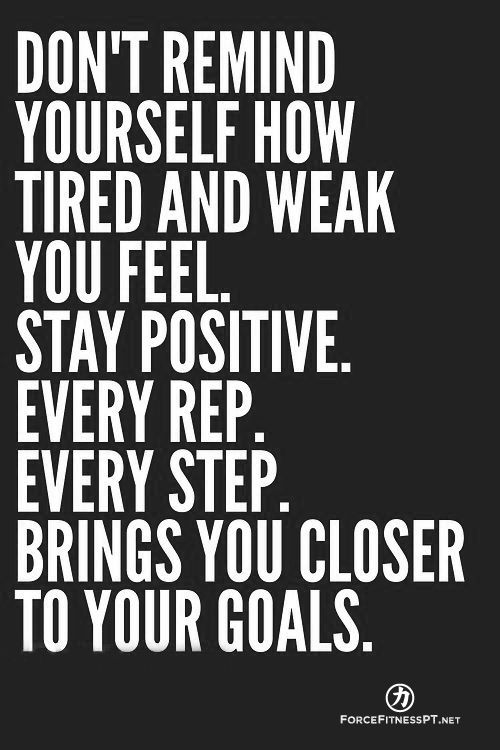 Fitness, Personal Training, Progress, Positivity, Goals