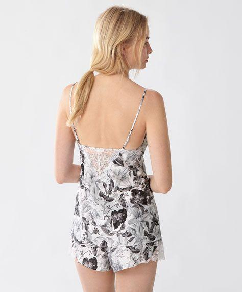 Top Half - Pyjamas - SALE - Spring Summer 2017 trends in women fashion   Oysho