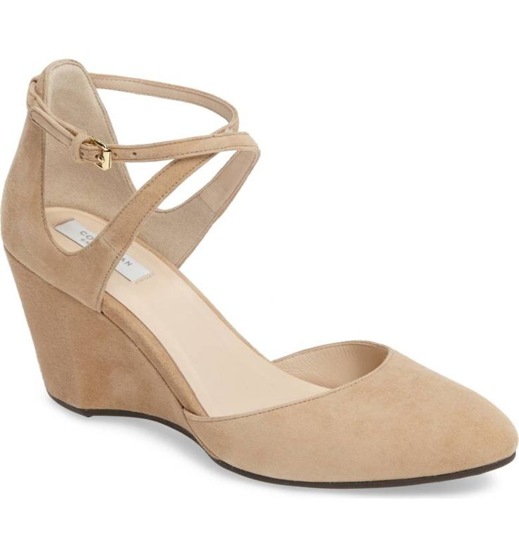 Cole Haan Lacey Ankle Strap Wedge Pump (Women) /