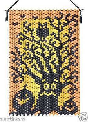 Spooked-Tree-Beaded-Banner-Kit-The-Beadery-7309-Pony-Beads