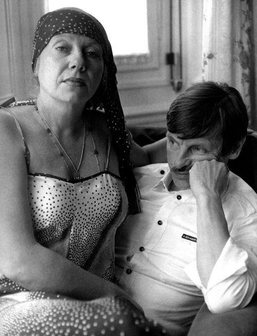 Larissa et Andrei Tarkovsky, Cannes 1983 (photograph by Xavier Lambours)