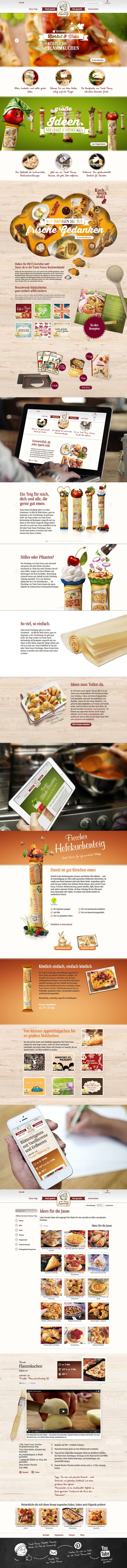 www.tantefanny.at  Repinned by www.lunik2.com #branding #webdesign #design…