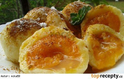 Rychlé meruňkové knedlíky