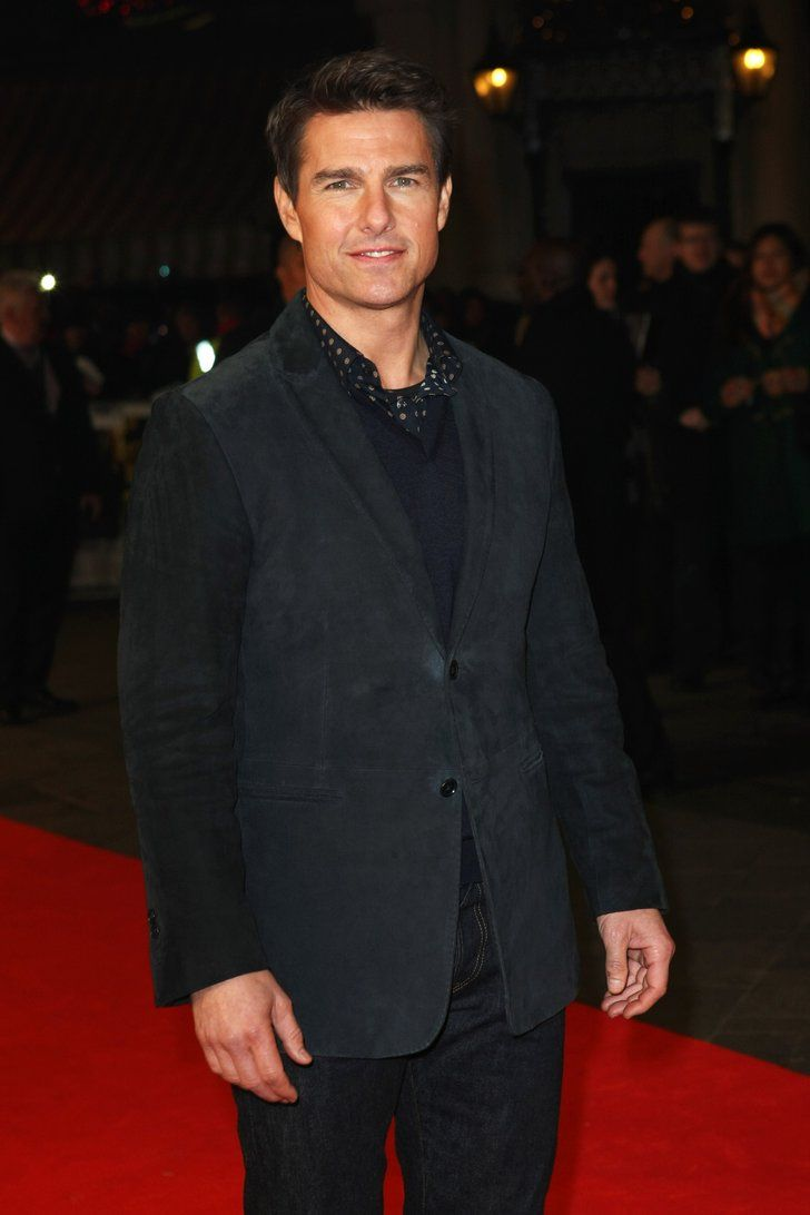 London Tom Cruise looked dapper red carpet world | These Hot Tom Cruise Pictures Will Convince You Age Is Just a Number | POPSUGAR Celebrity Photo 6
