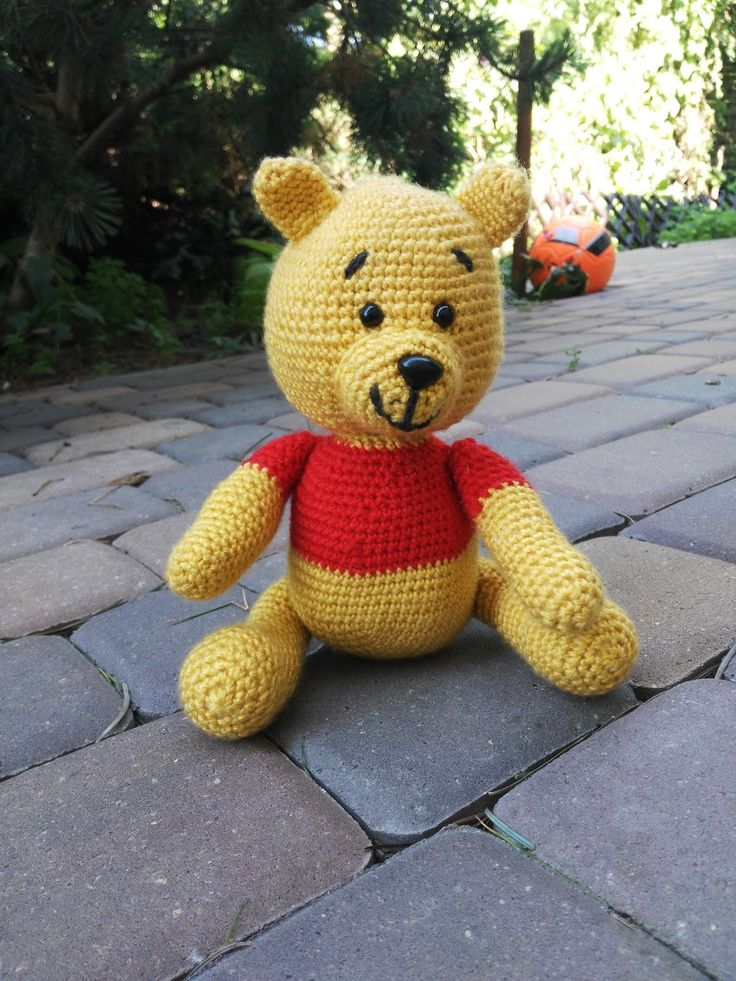 Kubuś Puchatek -schemat / Winnie the Pooh free patern