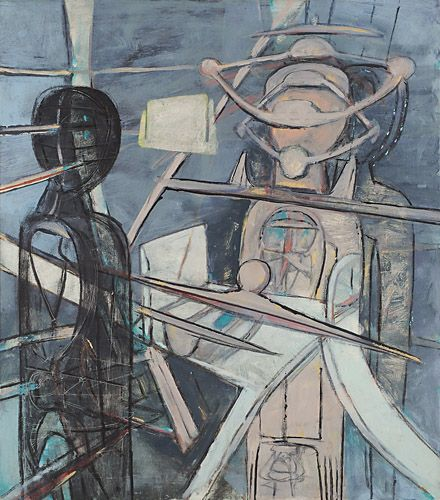 Roberto Matta, Black Mirror, 1947  Discover the coolest shows in New York at www.artexperience.com