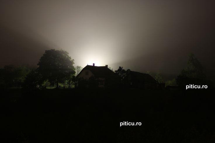 Noaptea la munte