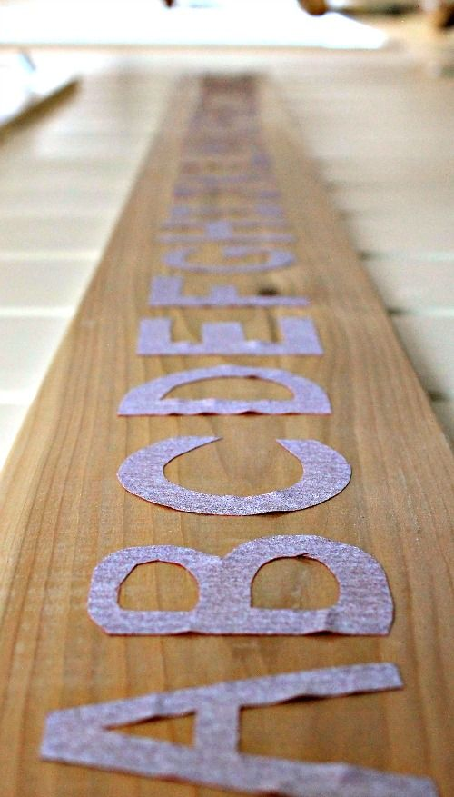 Sandpaper Letters - so simple to make and a wonderful way for tactile learners to practice their ABCs.