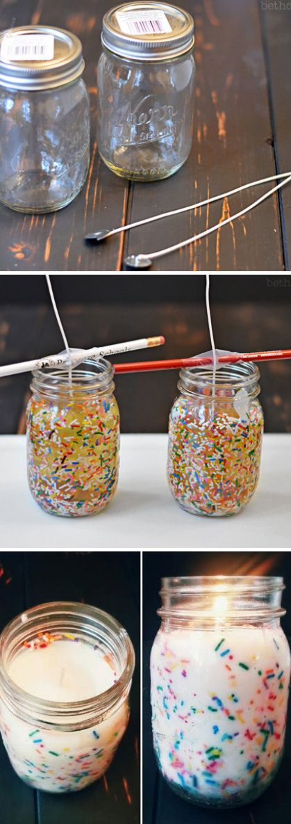 Funfetti Candles