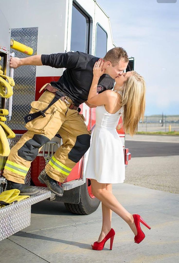 What It's Like To Be A Firefighter's Girlfriend