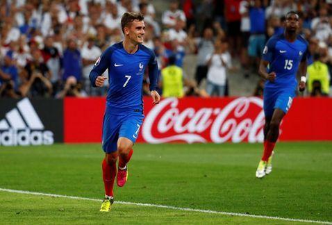 EUROCOPA 2016: FRANCIA VENCE A  ALEMANIA 2 A 0 Y PASA A LA FINAL