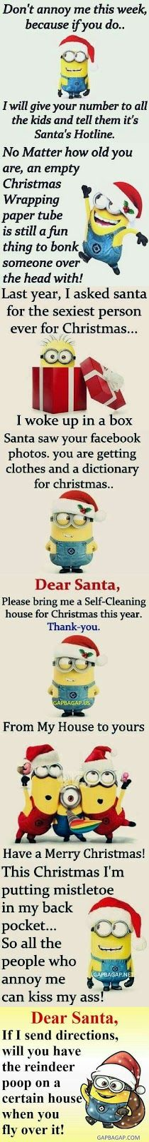 Funny Memes Collection About Christmas By Minions