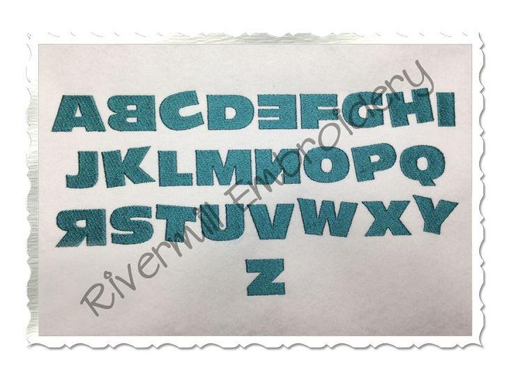 $2.95Wacky Machine Embroidery Alphabet