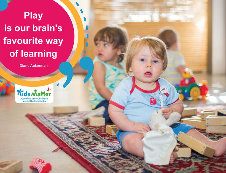play in early childhood Early childhood educators, child development specialists, and some parents believe play is the best way for young children to learn the concepts, skills, and tasks needed to set a solid foundation for later school and life success.
