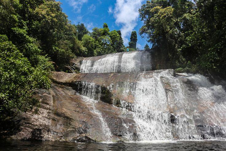 Cachoeira Sete Quedas. Estação Ecológica Bananal. Foto: Fstação Floresta