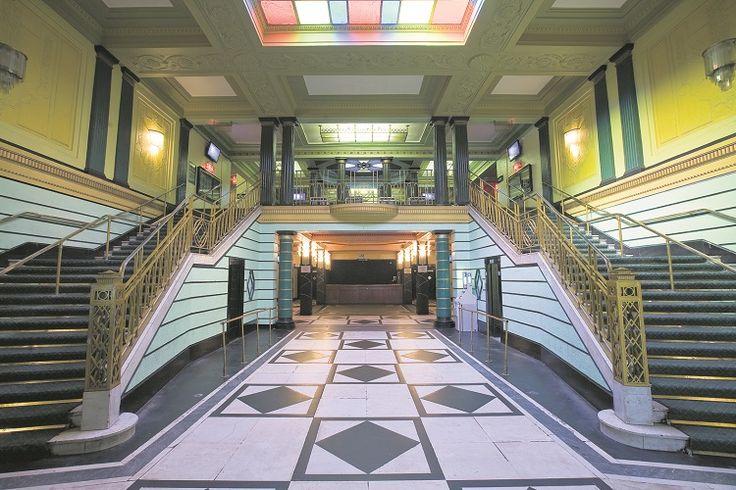 Interior of Brixton Academy, London