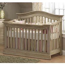 Baby Cache Montana 4in1 Convertible Crib Driftwood