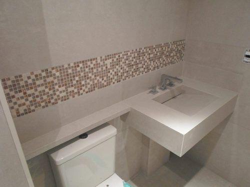 cuba para pia de banheiro pequena  Pesquisa Google  Banheiros e lavabos  P -> Bancada Para Banheiro Pequeno Em Granito