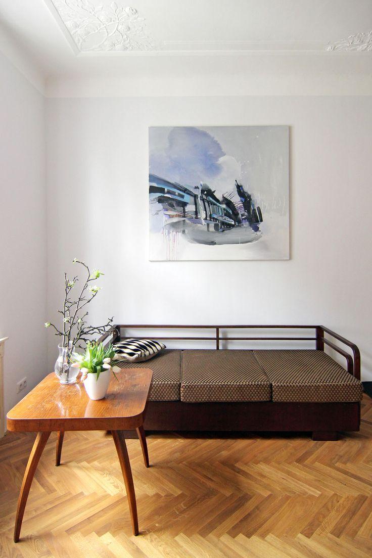 Interiér bytu na Letné   studio29 - ARCHITEKTURA