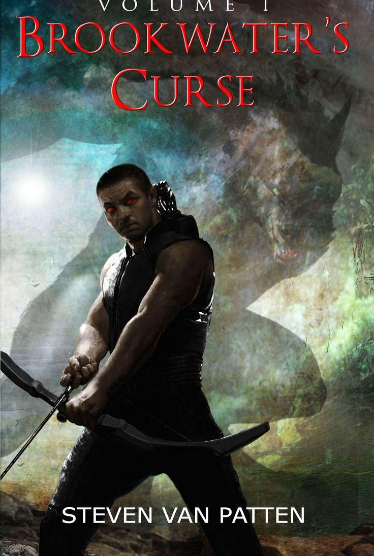 Online Book Publicity Promoting Brookwater's Curse A Dark Fantasy Horror  Adventure By Steven Van Patten
