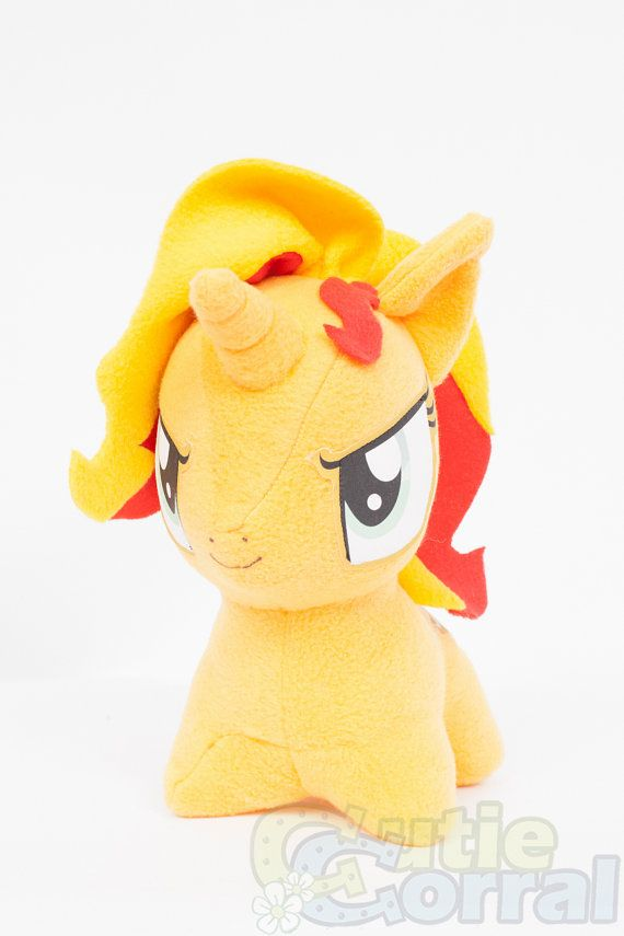 CHIBI Sunset Shimmer MLP HandMade Custom Craft by CutieCorral