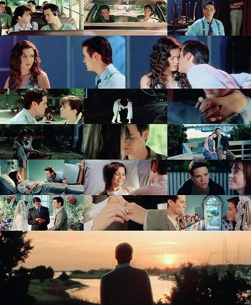 A Walk to Remember <3 I love a lot of movies but this is by far one of my favorites. <3