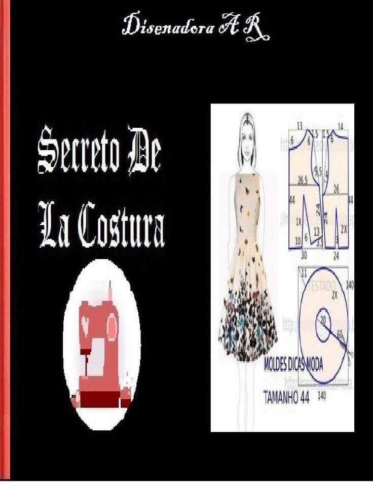 Libro de secreoto de costura  molde patrones costura