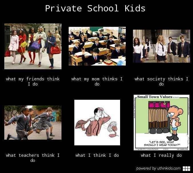 How do private schools compare to public schools for kindergarten?