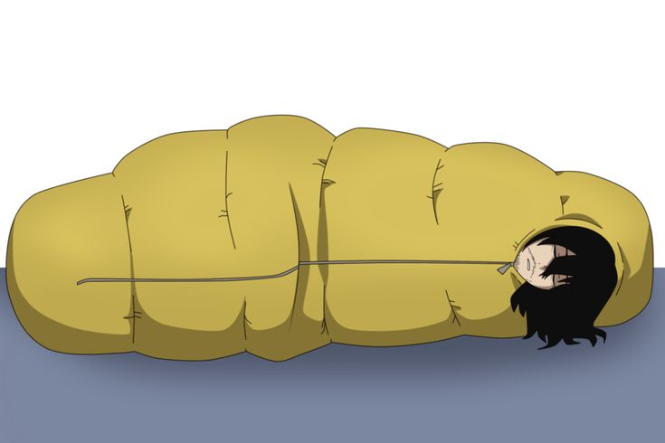 Commission aizawaburritoinside your sleeping bag by