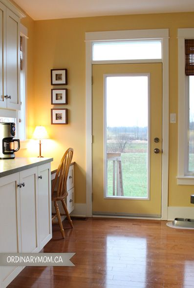 Our kitchen yellow pinterest for 7 x 9 kitchen cabinets