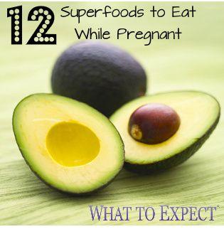 Twelve superstar foods that should headline in your diet during pregnancy. #healthy