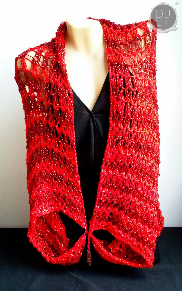 Now trending: Red Cocoon/Shrug 2   Chal/Chaleco Rojo 2 http://byduli.com/products/red-cocoon-shrug-2-chal-chaleco-rojo-2?utm_campaign=crowdfire&utm_content=crowdfire&utm_medium=social&utm_source=pinterest