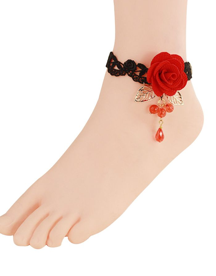 Get some #trendy and #awesome look with these anklets #Beautiful #Designer #Lace #Anklets By #ReturnFavors http://www.returnfavors.com/anklets/