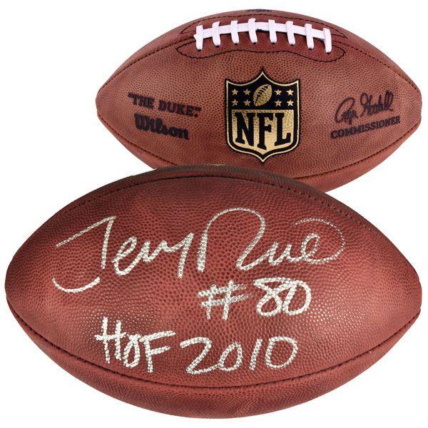 Jerry Rice San Francisco 49ers Fanatics Authentic Autographed Wilson Pro Football with HOF 2010 Inscription - $499.99