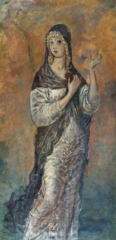 Augustus Edwin John - Virgin