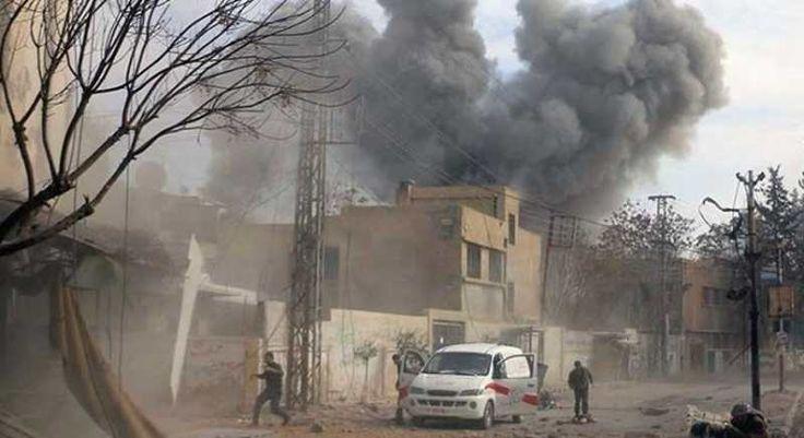 La ONU y varias potencias internacionales advirtieron hoy del riesgo de que la guerra en Siria desemboque en un conflicto regional e incluso mundial
